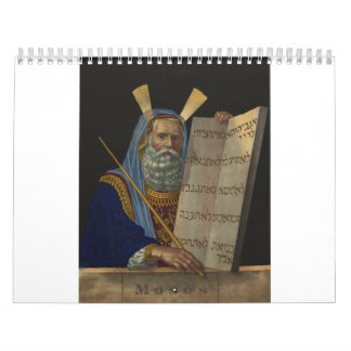 Moses by Henry Schile 1874 Wall Calendars