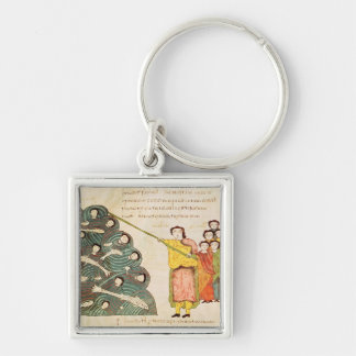 Moses closing the Red Sea on the Egyptians Key Ring