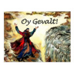Moses Oy Gevalt! Postcard