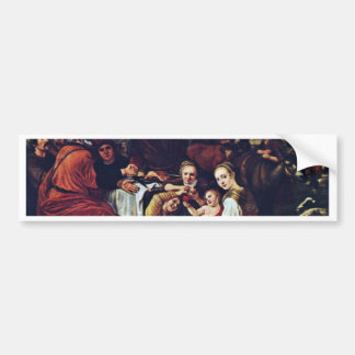 Moses' Parting Of Jethro By Victors Jan Bumper Sticker
