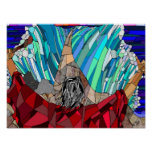 Moses Parting the Red Sea (16 x 12) Poster