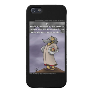 Moses & The 10 Twitter Hashtags Funny Case For The iPhone 5
