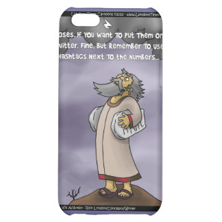 Moses & The 10 Twitter Hashtags Funny Gifts &  iPhone 5C Covers