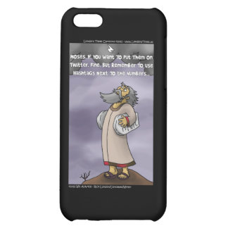 Moses & The 10 Twitter Hashtags Funny iPhone 5C Cover