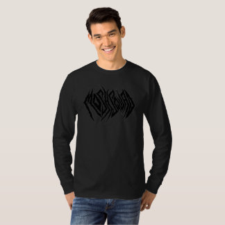 Mosh Squad All Black Long Sleeve T Shirt