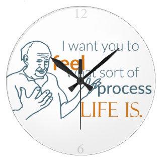 Moshe Speaks: Feel Life with Wall Clocks