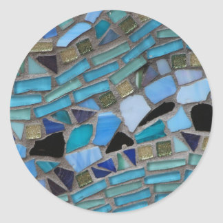 Mosiac Classic Round Sticker