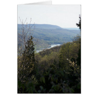 Mosiers Knob view Greeting Card