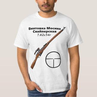 Mosin Nagant PU Sniper T Shirt