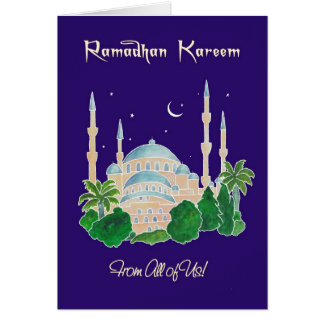 Mosque by Moonlight 'From All of Us' Ramadan Card