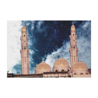 Mosque Canvas Print