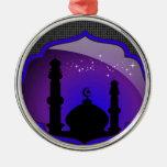 Mosque Design Christmas Ornaments