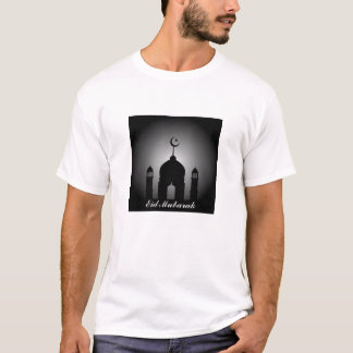 Mosque dome and minaret silhouette T-Shirt