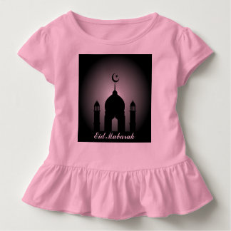 Mosque dome and minaret silhouette toddler T-Shirt
