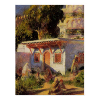 Mosque in Algiers by Pierre-Auguste Renoir Postcard