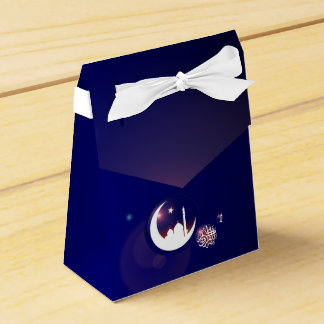 Mosque in Crescent Moon Favour Box