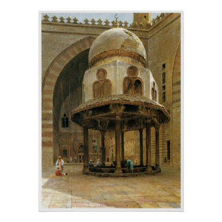 Mosque of sultan Hassan, Cairo Posters