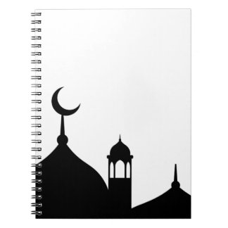 Mosque Silhouette Notebook