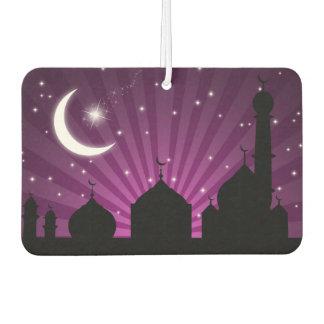 Mosque Silhouette Purple Night - Air Freshener