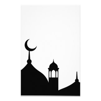 Mosque Silhouette Stationery