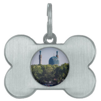 Mosque St Petersburg Russia Pet ID Tag