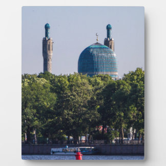 Mosque St Petersburg Russia Photo Plaques