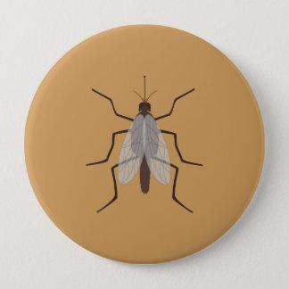 Mosquito 10 Cm Round Badge