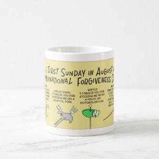 Mosquito and National Forgiveness Day Coffee Mug