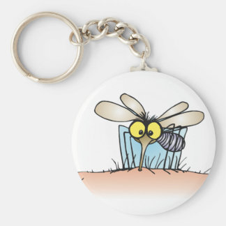 Mosquito Biting An Arm Keychain