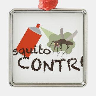Mosquito Control Metal Ornament
