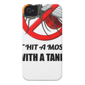mosquito don't hit it with a tank iPhone 4 cover