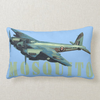 Mosquito Fighter Bomber Sky Blue Cushion