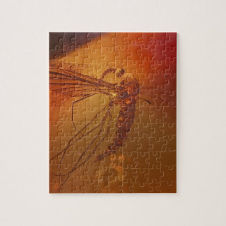 MOSQUITO IN AMBER PUZZLE