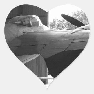 Mosquito...the wooden wonder heart sticker