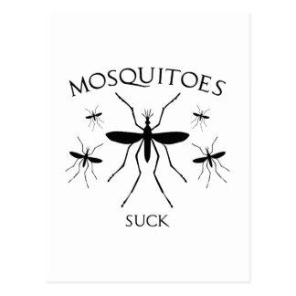 Mosquitoes Suck Postcard