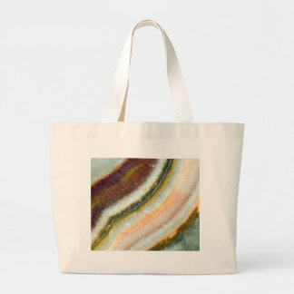 Moss Cafe Quartz Crystal Large Tote Bag