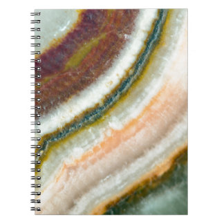 Moss Cafe Quartz Crystal Notebook