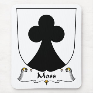 Moss Family Crest Mouse Pad