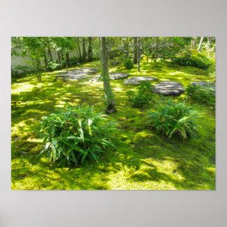 Moss Garden Poster