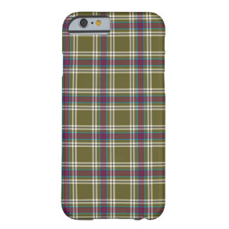Moss Green and Purple Plaid Barely There iPhone 6 Case