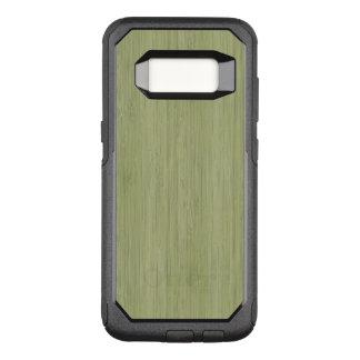Moss Green Bamboo Wood Grain Look OtterBox Commuter Samsung Galaxy S8 Case