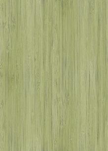 Moss Green Bamboo Wood Grain Look Shower Curtain