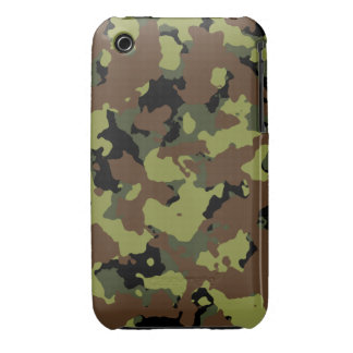 Moss Green Military Camo iPhone 3 Cover