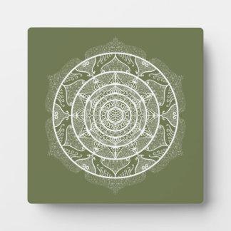 Moss Mandala Plaque