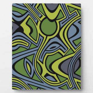 Moss Plaque