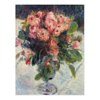 Moss-Roses, c.1890 Postcard