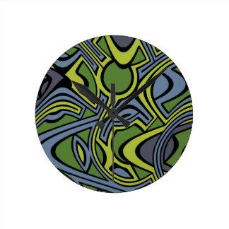 Moss Round Clock