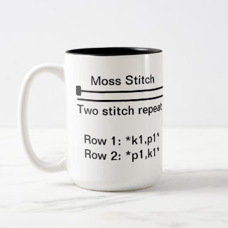 Moss Stitch Mug