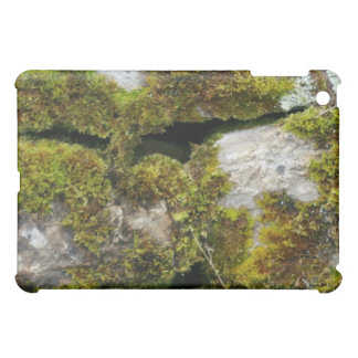 Moss stone wall 3D Cover For The iPad Mini