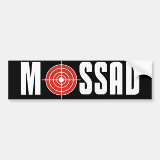 Mossad Bumper Sticker